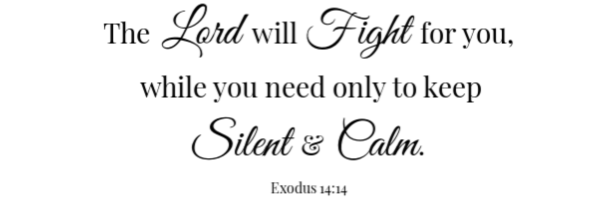 German Chocolate Cake Scripture Exodus 14:14
