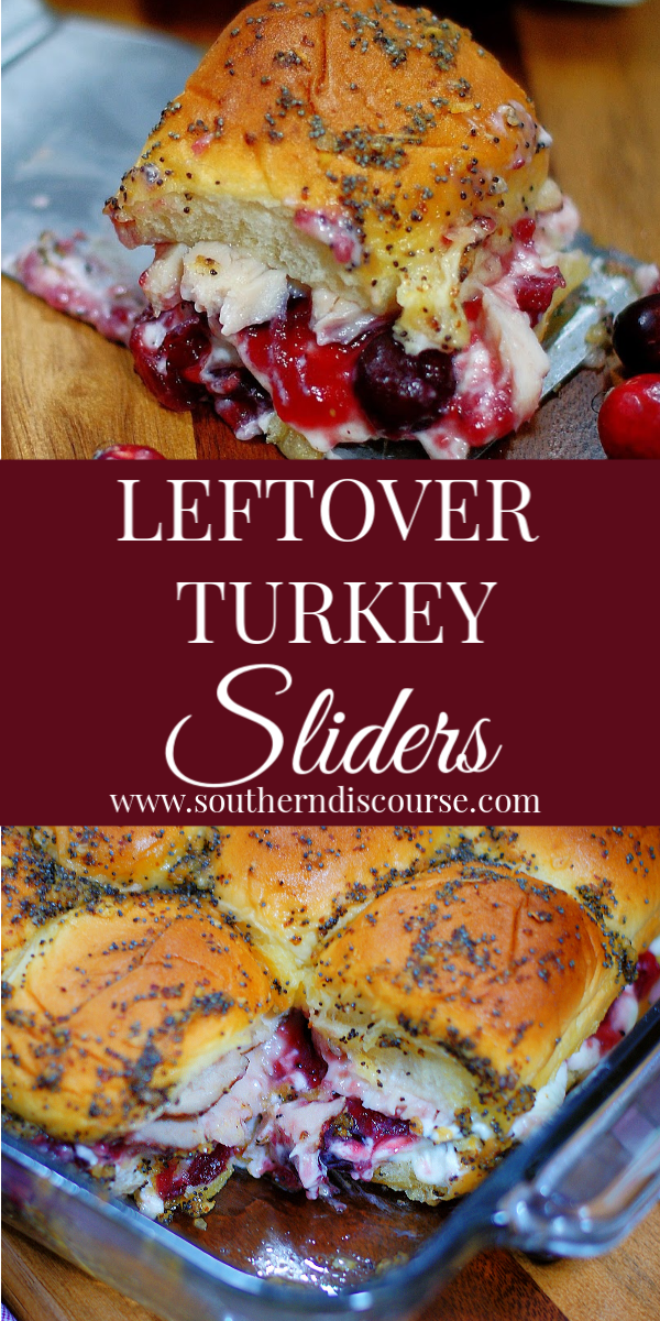 The BEST leftover turkey recipe! Hot turkey sliders with cranberry and cream cheese on Hawaiian Rolls! An easy way to enjoy the day after Thanksgiving. #baked #holiday