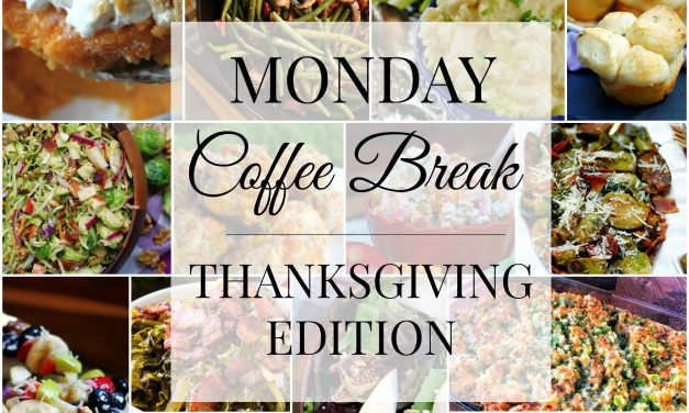 Monday Coffee Break #61- Thanksgiving Edition