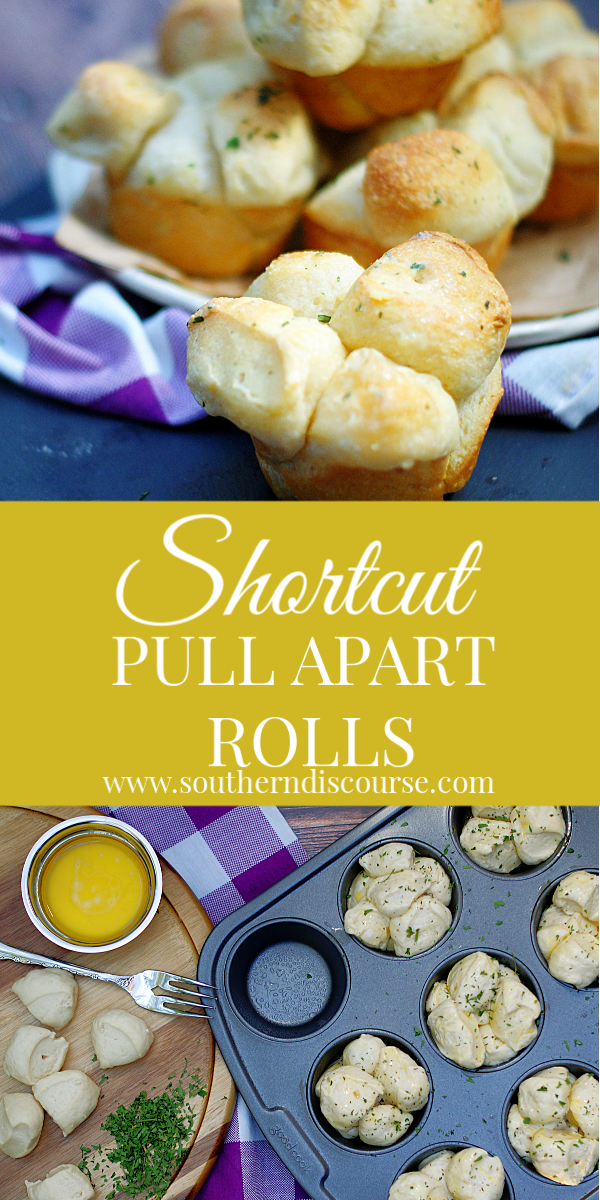These easy dinner rolls are perfect for Thanksgiving, Christmas or Easter. Easy, quick for that homemade yeast roll goodness! #southerndiscourse #homemaderolls #dinnerrolls