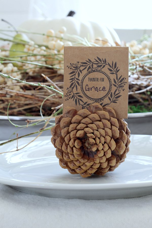 Free Thanksgiving Place Cards » The Tattered Pew