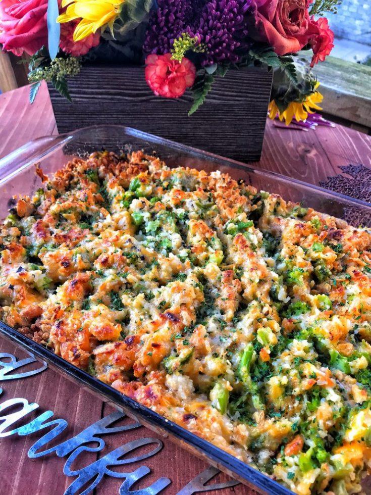 Broccoli Cheese Casserole