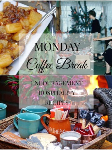 Monday Coffee Break %9 Collage Title