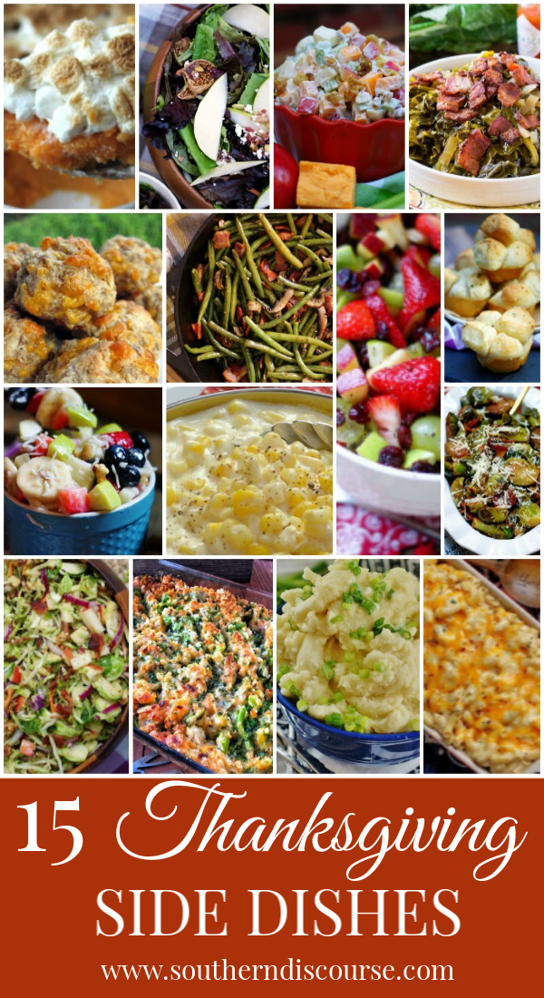 Thanksgiving is all about the side dishes! This collection includes great last minute holiday sides dishes to round out any table.