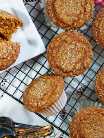 The Best Homemade Gingerbread Muffins