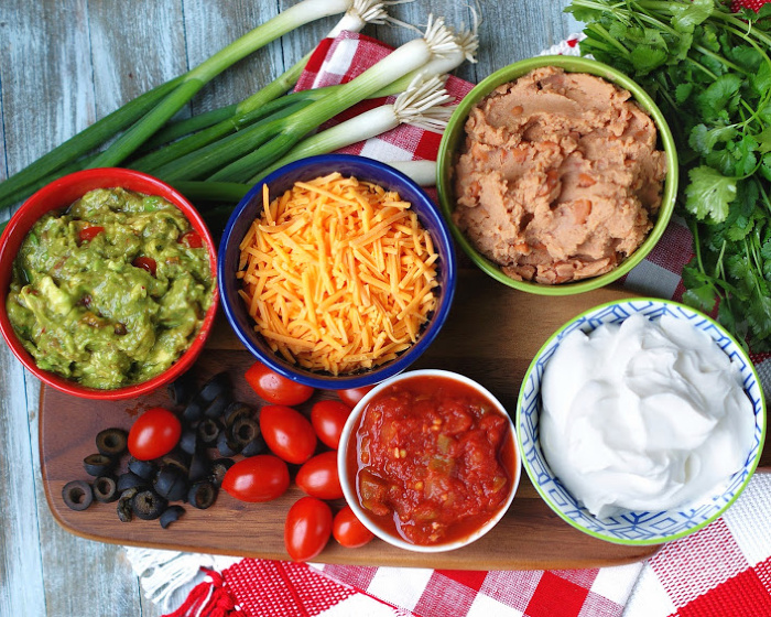 7 Layer Mexican Dip Ingredients