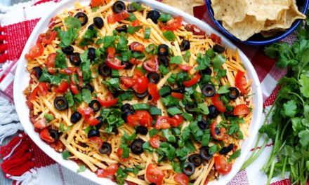 Classic Mexican 7 Layer Dip