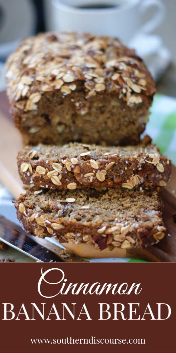 This easy banana bread recipe is a simple standout when it comes to this classic loaf! Whipped up with brown sugar, pecans and sour cream, this recipe guarantees the absolute best, most moist slice of homemade banana heaven around! #bananabread #homemade #moist