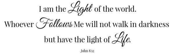 Mexican Cornbread Scripture- John 8:12