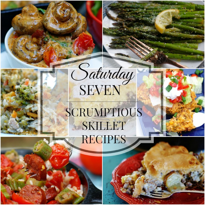 skillet recipes title collage