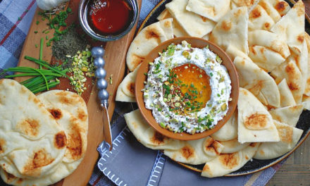Whipped Feta with Honey Dip