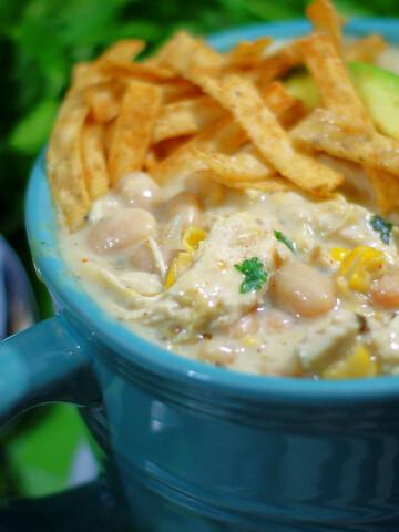 Cream CHeese Chicken Chili Title