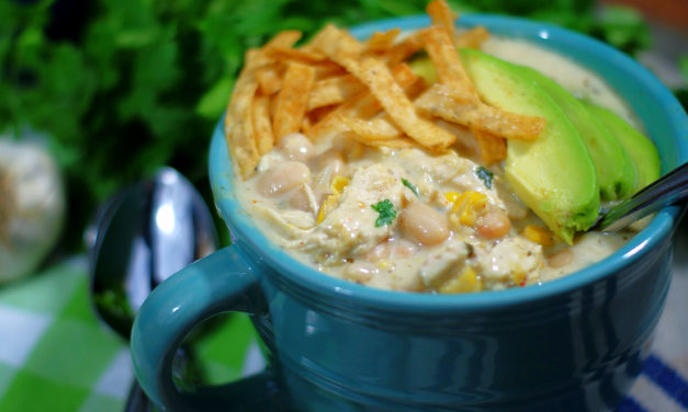 Out of This World Cream Cheese Chicken Chili