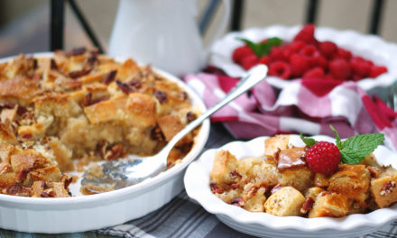 Southern Bread Pudding with Whiskey Cream Sauce