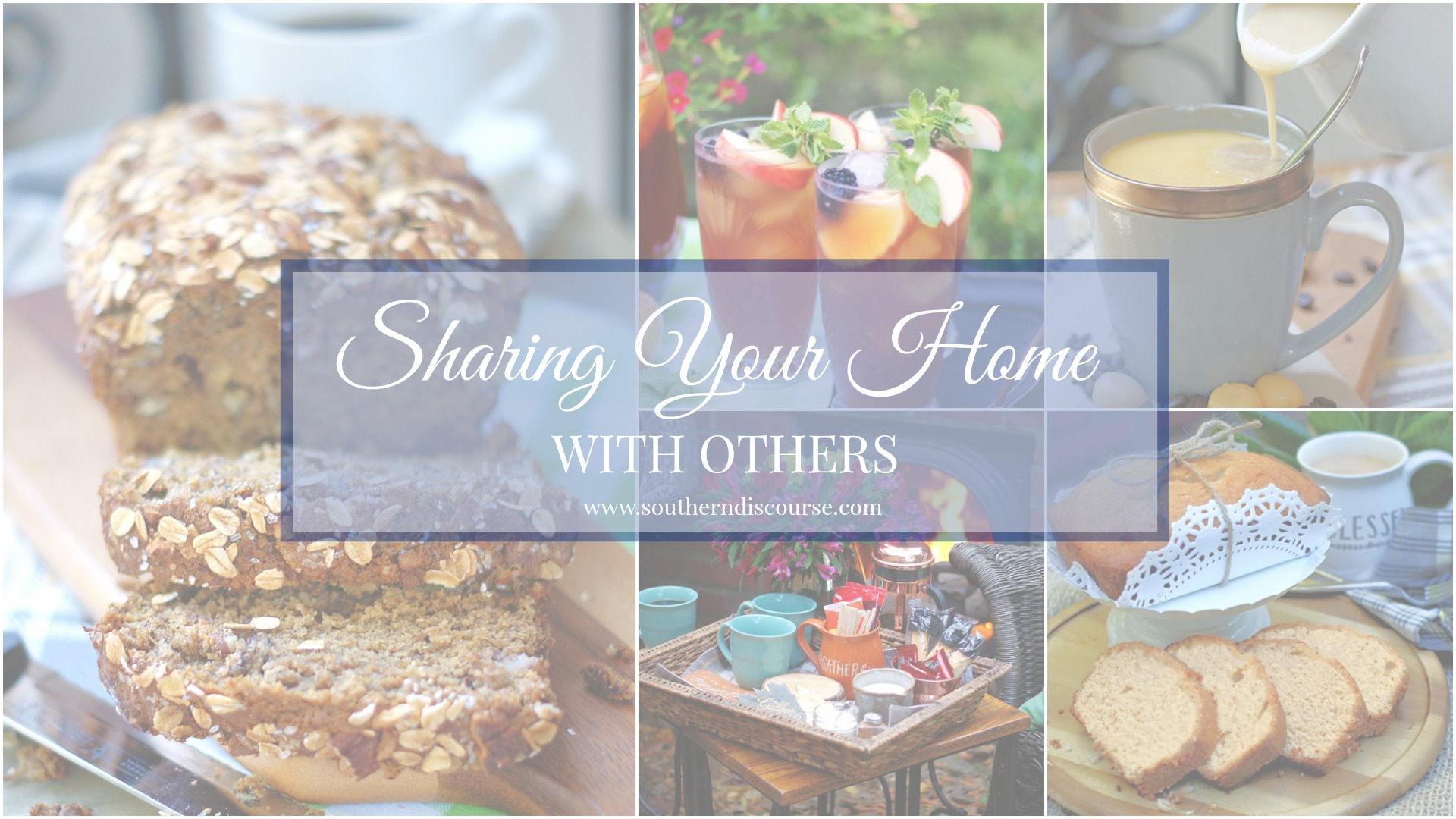 Sharing your home collage
