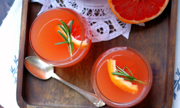 Ruby Grapefruit Punch