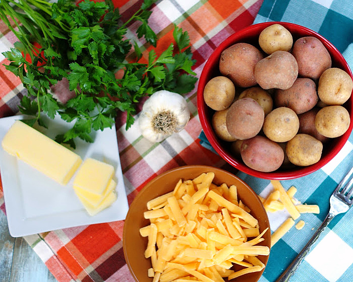 Smashed Potato Bites ingredients