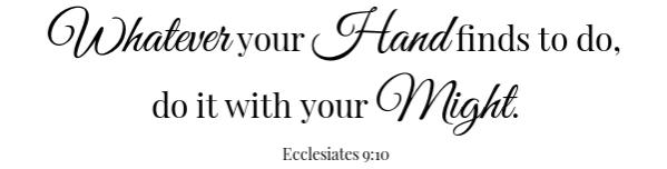 Shrimp Cocktail Sauce scripture- Ecc. 9:10