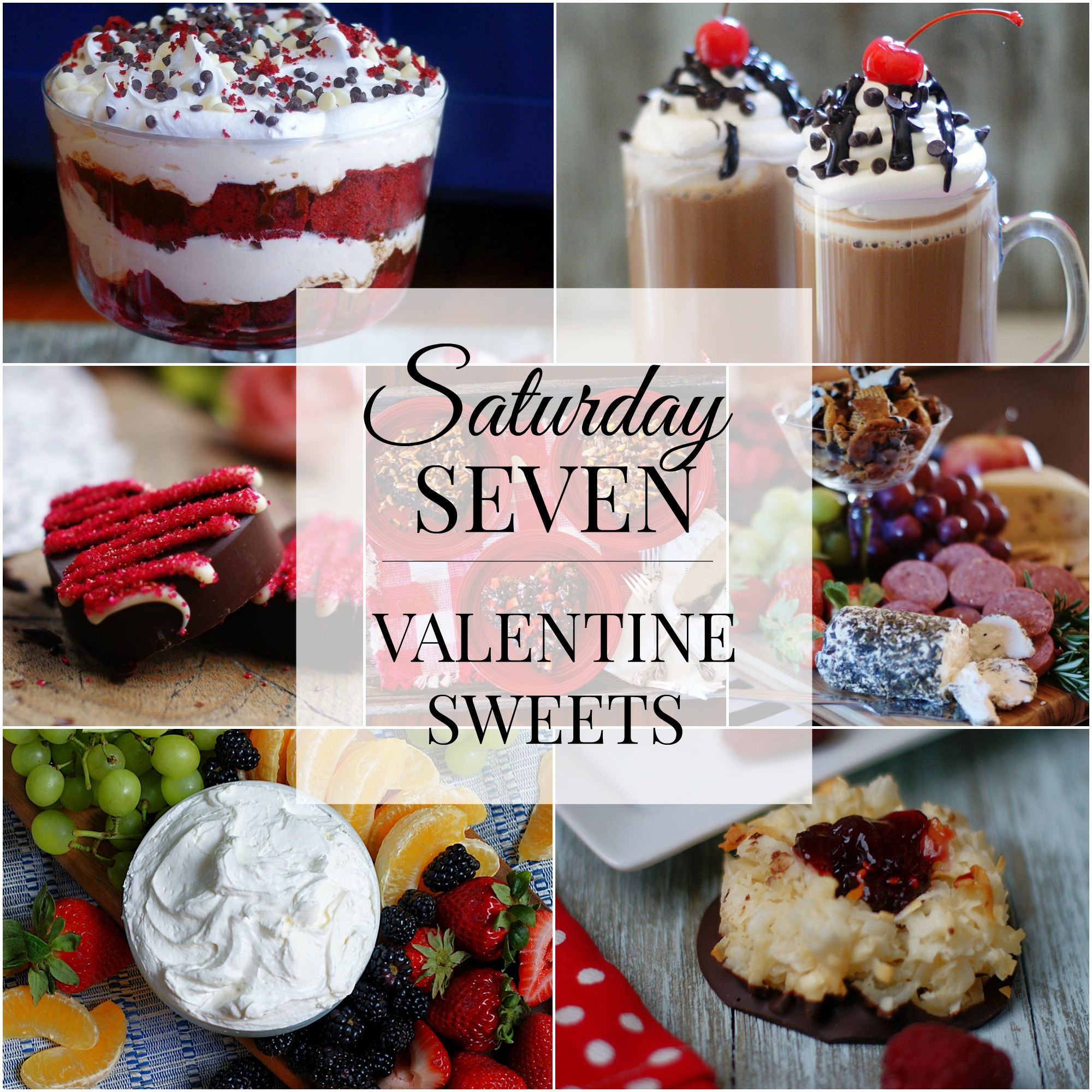 Valentine Sweets Title Collage