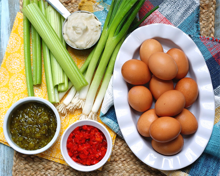 Farmhouse Egg Salad Ingredients