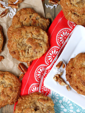 Perfect Coconut Cookies Title