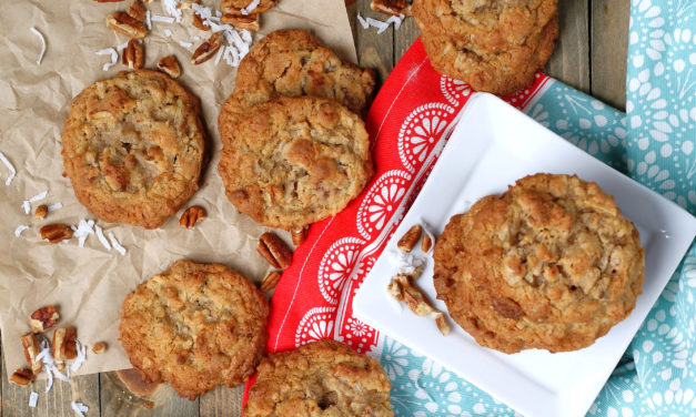 Perfect Coconut Cookies with Pecans