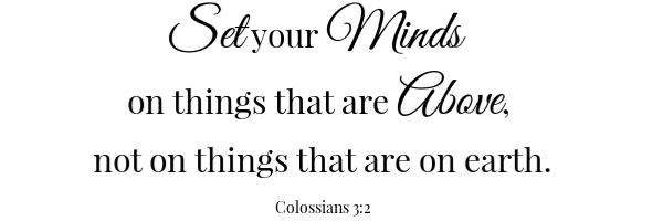Coconut Orange Butter Scripture- Colossians 3:3