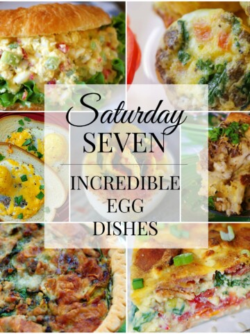 7 egg dishes title collage