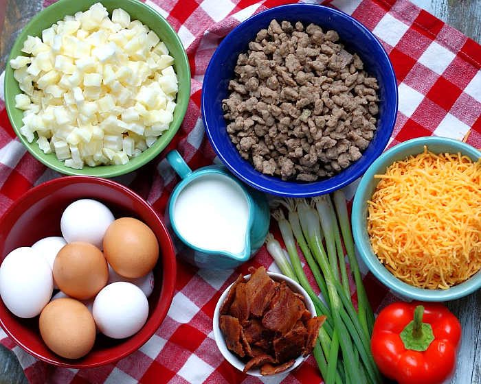 Farmhouse Breakfast Casserole Ingredients
