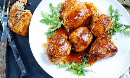 Easy Crock Pot BBQ Boneless Chicken Thighs