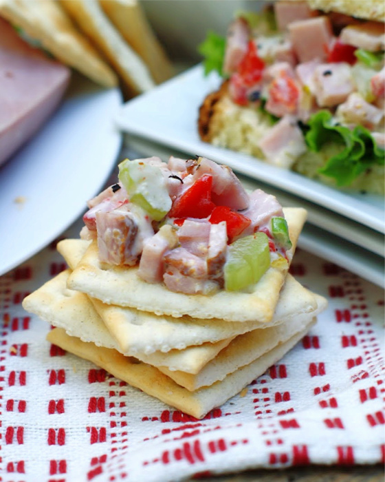 Ham Salad Cracker