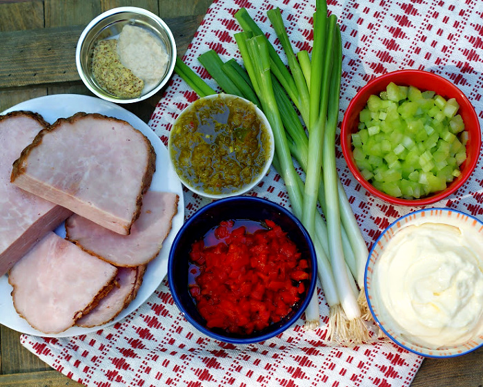 ham salad ingredients