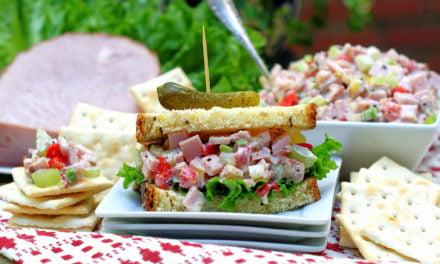 Southern Chopped Ham Salad