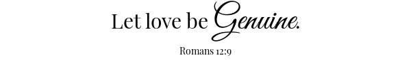 Fresh Salsa scripture- Romans 12:9