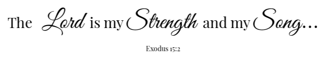 Farmhouse Breakfast Casserole Scripture - Exodus 15:2