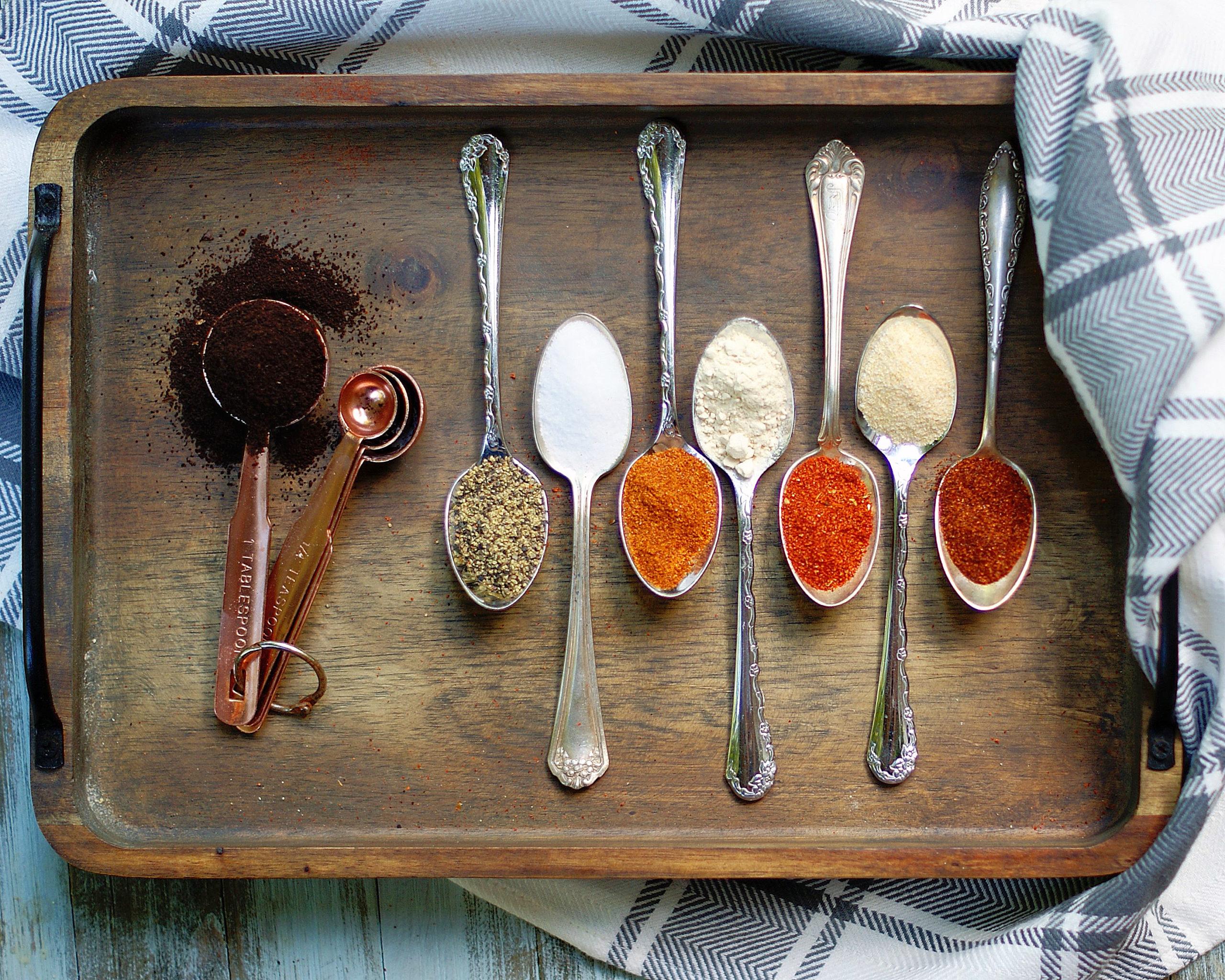 Smoky Sweet Coffee Rub Ingredients