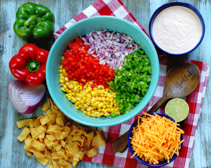 Frito Corn Salad Ingredients
