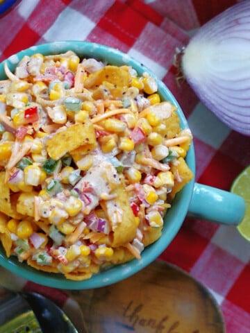 Frito Corn Salad Title