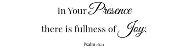 Marinated Peach & Shrimp Salad Scripture- Psalm 16:11