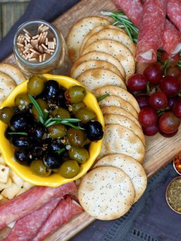 Easy Italian Marinated Olives
