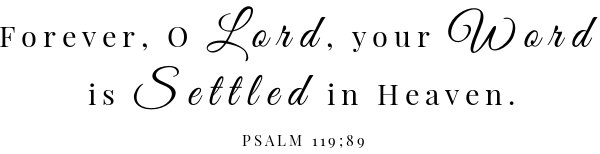 No Churn Blueberry Lemon Ice Cream Scripture- Psalm 119:89