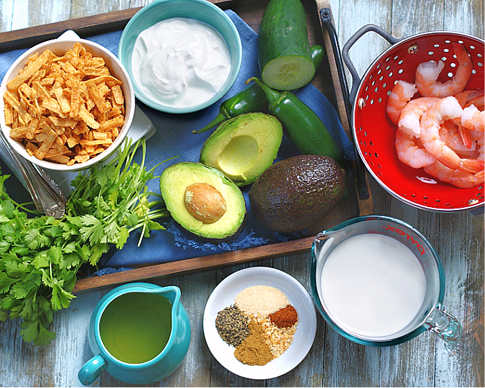 Chilled Avocado Soup Ingredients