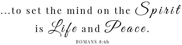 Chilled Avocado Soup Scripture- Romans 8:6
