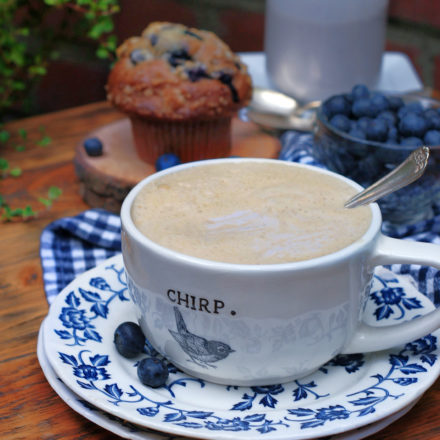 Blueberry Coffee Creamer Feature