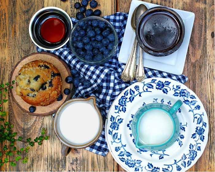 Blueberry Coffee Creamer Ingredients