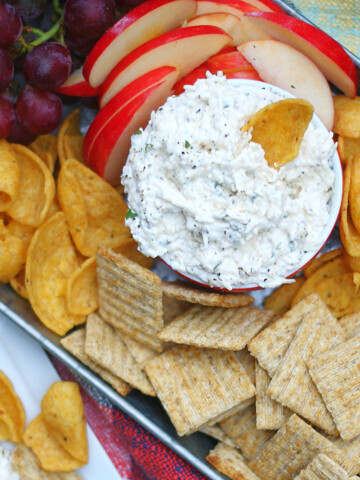 Creamy Peppercorn Parmesan Cheese Dip