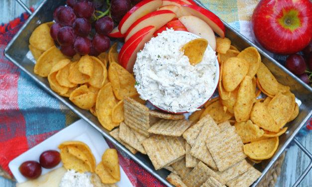 Creamy Peppercorn Parmesan Cheese Dip
