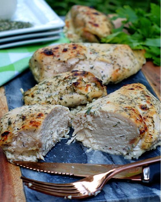 Roasted Buttermilk Chicken Breast & Thighs