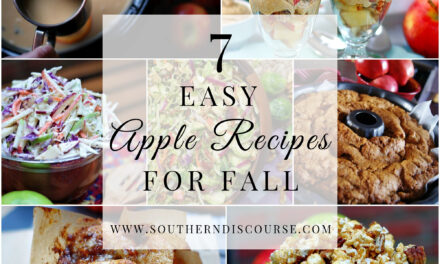 Easy Apple Recipes For Fall- Saturday Seven