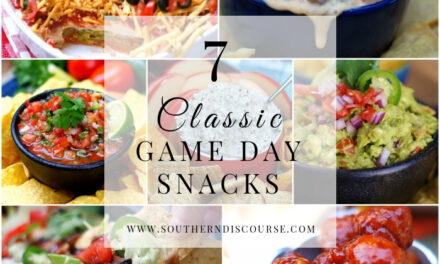 7 Classic Game Day Snacks- Saturday Seven